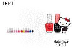 OPI Hello Kitty juz dostepna w salonach Pardon My French manicure pedicure