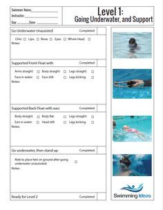 Swimming Ideas for agencies and individuals. Baby Swimming Classes, Swimming Lessons For Kids, Swim Lessons, Swimming Instructor, Swimming Coach, Teach Kids To Swim, Learn To Swim, Swimming Drills, Swimming Games