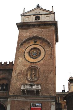 Clock Tower in Mantova