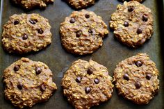 Breakfast Cookies! Really wanna try this because I can eat them while driving to work. @shaety cook them for me.