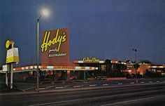 (Don: One of our favorite cruising spots, circa 1965-1970). Hody's restaurant, long beach ca - Google Search