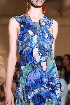 Maison Martin Margiela Fall 2014 Couture Collection- Van Gogh inspired.