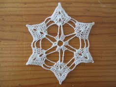 susan in stitches: Free crochet pattern - Southern Snowflake