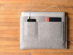 MacBook Pro/Air Bag Liner - Grey Felt