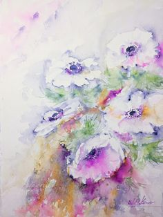 veredit - art©: Wind kissed Anemones