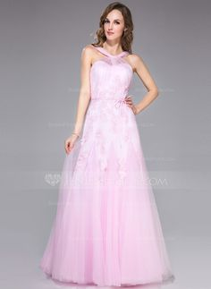 Prom Dresses - $158.99 - Trumpet/Mermaid V-neck Floor-Length Satin Tulle Prom Dress With Ruffle Lace Bow(s) (016042415) http://jenjenhouse.com/Trumpet-Mermaid-V-Neck-Floor-Length-Satin-Tulle-Prom-Dress-With-Ruffle-Lace-Bow-S-016042415-g42415