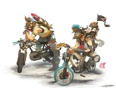 """""""Atomic Delivery - Parche Blacksmith Brothers"""" by Sergi Brosa*  • Blog/Website 