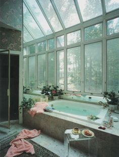 Do you know about the trend for bathroom plants ? This 'quick fix' for bathroom ideas makeovers is already set to to be one of the biggest style trends bathroom remodel of Read Exterior Design, Interior And Exterior, Diy Interior, Modern Interior, Modern Decor, Interior Architecture, Bathroom Plants, Bathroom Sinks, Bathroom Wall