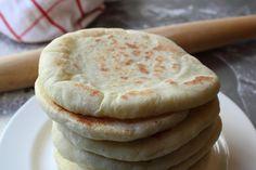 Pita Bread - How to Make Pita Bread at Home - Grilled Flatbread