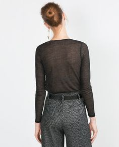 Image 5 of WOOL TOP from Zara