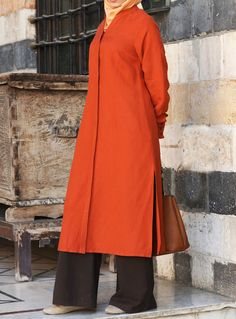 Long Dusters- such a versatile piece and love the color! From SHUKR #Islamic Clothing