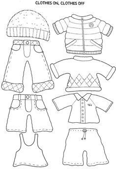 My on going lesson of clothes started with paper dolls. I have a set I keep and a print out for the kids. I combined the doll with a dice of seasons for our Seasons & Weather lesson. Paper Dolls Clothing, Paper Clothes, Clothes Crafts, Doll Clothes, Quiet Book Templates, Quiet Book Patterns, Felt Patterns, Paper Doll Template, Paper Dolls Printable
