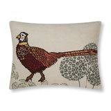 Pheasant Embroidered