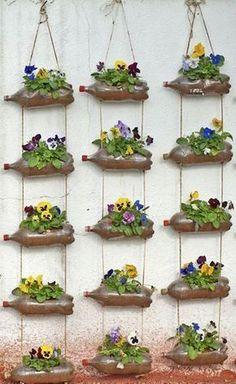 Diy Garden Decor Ideas Luxury Awesome Spring Garden Decoration Ideas for Backyard & Front Succulent Planter Diy, Diy Planters, Garden Planters, Succulents Garden, Balcony Gardening, Herbs Garden, Indoor Gardening, Planter Ideas, Greenhouse Gardening