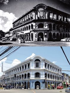 •JM Basa St.,Iloilo City, Iloilo Philippines•Wayback 1930's•Formerly known as Washington International Hotel•Dating back to 1927, the E/R Villanueva Building was once known as the International Hotel, which hosted American, British, Spanish patrons as well as Chinese bankers, merchants and bankers•It was in 2012 that the building was restored•Once a hotel popular with foreign visitors, this 1920's structure now serves as retail space Iloilo City, Philippines Culture, Retail Space, Manila, Cities, Restoration, Spanish, Washington, Dating