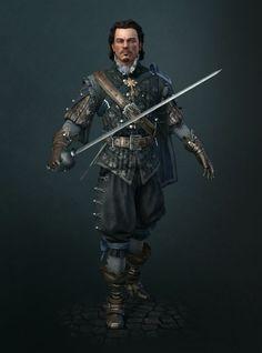 rapier swordsman