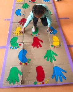 Fun Indoor Activities, Nursery Activities, Motor Skills Activities, Infant Activities, Preschool Activities, Easy Art For Kids, Yoga For Kids, Crafts For Kids, Games For Toddlers