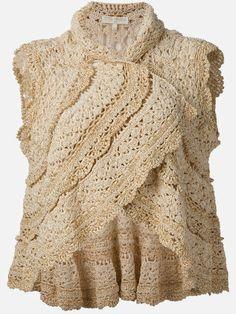 Crochetemoda: Bolero de Crochet