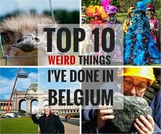 Top 10 Weirdest Things I've Done in Belgium | Slow Travel in Europe and Beyond | CheeseWeb
