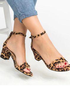 da85d969517101 Pretty Chunky Mid-heels Shoes Pumps Heels