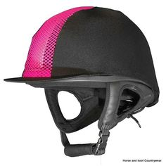 Cover for Champion Ventair Helmet Specially designed for use with the Champion Ventair Helmet Lycra cover with mesh insert One