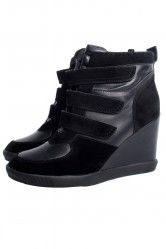 Our Isabel Marant inspired hidden heel sneakers #hiddenheel #sportsluxe #isabelmarant www.glamorous.com