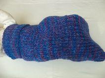 Cocoon Merinowolle Pucksack gestrickt Wolle Baby