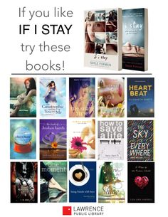 15 Young Adult Novels for Fans of If I Stay | wrappedupinbooks.org