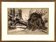 Peter Helck (1893-1988): Original Paintings & Art For Sale