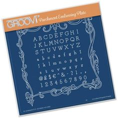 Groovi Plate - Universal Framer Square - - A great range of Groovi Plate Universal Framer Square from The Art of Craft Embossing Tool, Baby Plates, Crochet Supplies, Parchment Craft, Clever Design, Craft Shop, Plate Sets, Crochet Crafts, Essential Oils