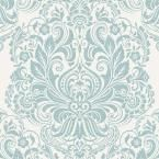 York Wallcoverings 56 sq. ft. American Classics Floral Damask Wallpaper-AM8749 - The Home Depot