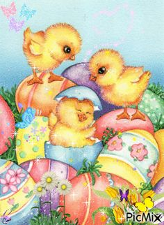 See the PicMix Baby Chicks belonging to leahbelle on PicMix. April Easter, Easter Art, Easter Crafts, Happy Easter, Easter Pagan, Easter Illustration, Easter Flowers, Easter Printables, Baby Chicks