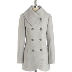 Double breasted coat with patch pockets Imperial Shop Online