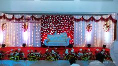 in, Wedding and Reception event planned and worked by our team Avsam guys, at S.M Hotel trichy tamilnadu India, Wedding Stage Backdrop, Wedding Reception Entrance, Wedding Stage Design, Wedding Hall Decorations, Marriage Decoration, Backdrop Decorations, Wedding Halls, Flower Decorations, Simple Stage Decorations
