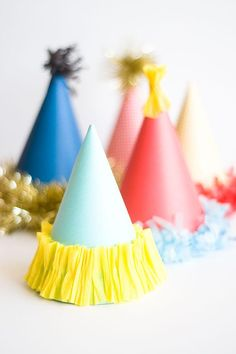 DIY Party Hats : DIY Party Hat Template free printable