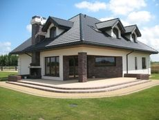 Steel Structure, Villa, 1, Mansions, House Styles, Home Decor, Houses, Build Your House, Steel Frame