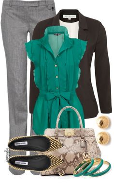 """""""School Days #50"""" by angkclaxton ❤ liked on Polyvore"""