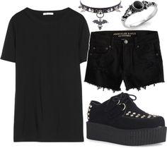 Simple, all black