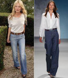 ce60902ba6 68 Best Fashion trend-wide leg pants images in 2014 | Ladies fashion ...