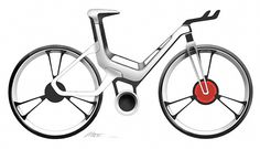 Ford E-Bike Concept #industrialdesign