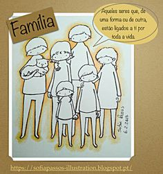 Illustration for kindness: Cartooninho 4 - Família