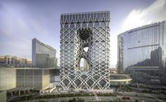 Morpheus Hotel at City of Dreams, Macau - Architecture - Zaha Hadid Architects