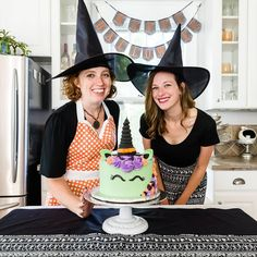 "928 Likes, 9 Comments - Stefani Pollack (@cupcakeproject) on Instagram: ""Too soon for Halloween fun?? @madebylia (on the right) and I had a blast today while she showed me…"""