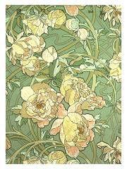 Papier peint new york casamance r tro d 39 inspiration art no - Papier peint art nouveau ...