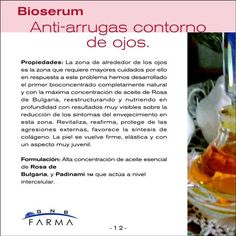 Bioserum contorno de ojos descripción