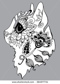 Line Art Drawing By Hand Tattoo