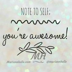 YES!! You are!   @mariannhelle