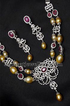 Jewellery Designs: designer Necklace