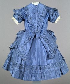 Child's dress, ca. 1870, England or America.