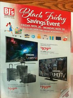 BJ's Wholesale Club 2015 Black Friday Ad...check out the 20 page #BlackFriday ad.